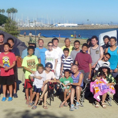 Youth Group Summer Camp at Cabrillo Camp August 2014