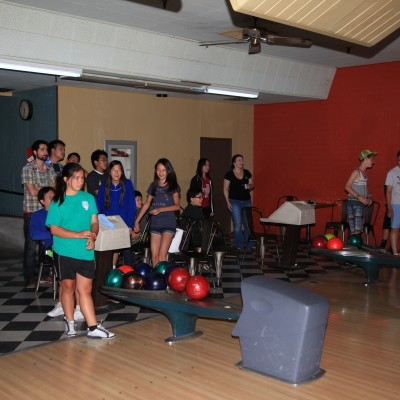 Chinese Community Church of South Bay Youth Group Bowling Outing, July 2014