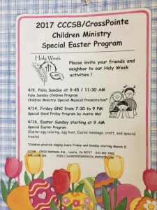 Chinese Community Church of South Bay Children Ministry